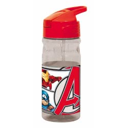 GIM Marvel Avengers Water Canteen Flip 500Ml - Red 557-52203 5204549117228