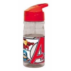 GIM Marvel Avengers Παγούρι Flip 500Ml - Κόκκινο 557-52203 5204549117228
