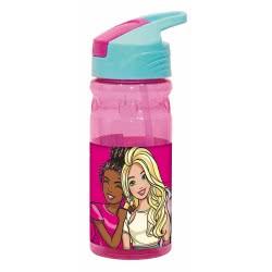 GIM Barbie Water Canteen Flip 500Ml - Pink 571-15203 5204549117303