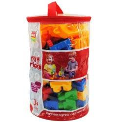 Toys-shop D.I Building Toy Blocks Bag With 100 Pieces JK096314 6990119963140