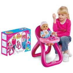 Toys-shop D.I Feed Chair Παιδικό Καθισματάκι Και Κούκλα 35 Εκ. Και Αξεσουάρ JO026785 6990119267859