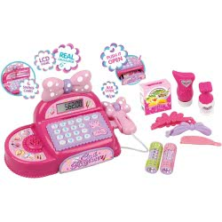 Toys-shop D.I Cash Register Ταμειακή Μηχανή Με Ήχους, Φώτα Και Αξεσουάρ JU045813 6990119458134