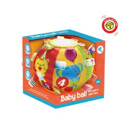 Toys-shop D.I Baby First Ball With Ring Bell JK097359 6990119973590