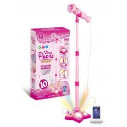 Toys-shop D.I Μικρόφωνο με βάση και σύνδεση με MP3 JM083640 6990119836406
