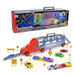Toys-shop D.I Νταλίκα Με Θήκες Και Αμαξάκια JC058054 6990119580545