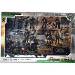 Toys-shop D.I Military Model Σετ Φιγούρες, Οχήματα Και Αξεσουάρ Στρατού JY054391 6990119543915