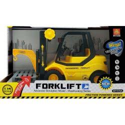 Toys-shop D.I Friction Forklift Περονοφόρο Ανυψωτικό Με Ήχους, Φώτα 1:14 JA087054 6990119870547