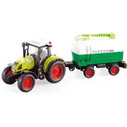 Toys-shop D.I Friction Τρακτέρ Με Βυτιοφόρο Φώτα Και Ήχους 1:16 JA086670 6990119866700