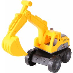 Toys-shop D.I Beach Engineering Truck Κίτρινος Εκσκαφέας JI044049 6990119440498