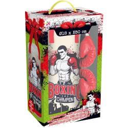 Toys-shop D.I Boxing Champion Σετ Μποξ Με Σάκο Και Γάντια JS059990 6990119599905