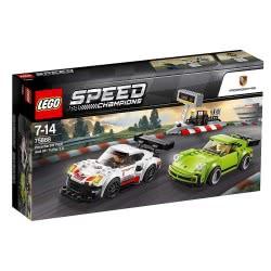 LEGO Speed Champions Porsche 911 RSR και 911 Turbo 3.0 75888 5702016110289
