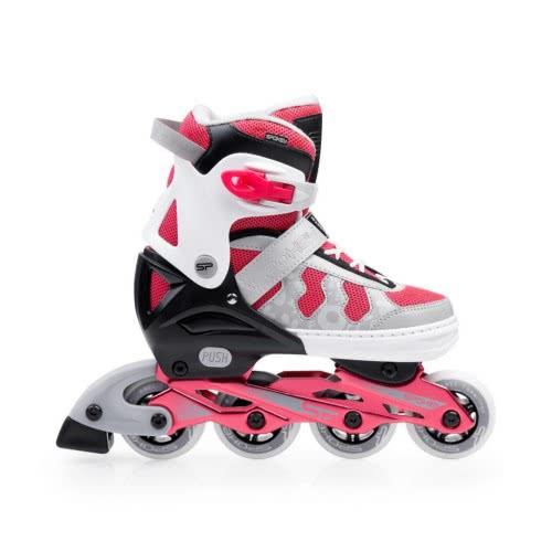 Spokey Maddox - Adjustable Inline Skates S. 32-35 - Pink 922088 5902693220886