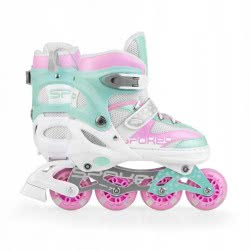 Spokey Limp Inline Skates Πατίνια, 29-33 - Ροζ 924693 5902693246930
