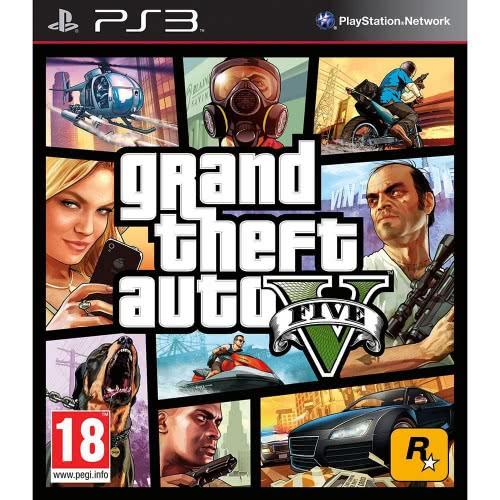 ROCKSTAR GAMES PS3 GTA V Grand Theft Auto V 5026555410229 5026555410229