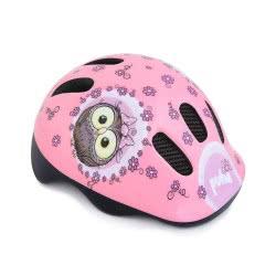 Spokey Puha Kids Helmet 44-48 Cm - Pink Owl 922199 5902693221999