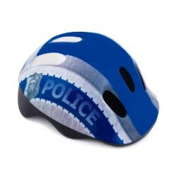 Spokey Defence Παιδικό Κράνος Police 44-48 Cm - Μπλε 924799 5902693247999