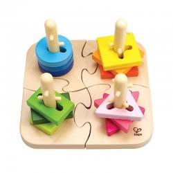 Hape Creative Peg Puzzle E0411 6943478002586