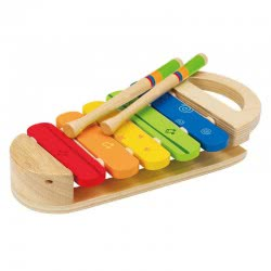 Hape Early Melodies Ξυλόφωνο Ουράνιο Τόξο Rainbow Xylophone E0302 6943478002319