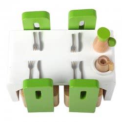 Hape Happy Family Ξύλινη Τραπεζαρία Dining Room E3454 6943478004528
