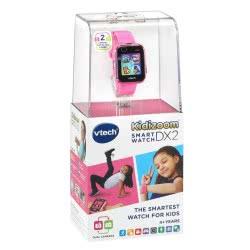 VTech Kidizoom Smart Watch DX2 Έξυπνο Ρολόι Με Οθόνη Αφής - Ροζ 80-193853 3417761938539