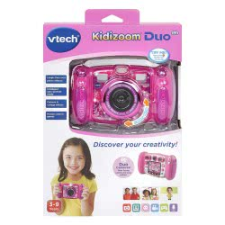 VTech Kidizoom Duo 5.0 Camera - Pink 80-507153 3417765071539