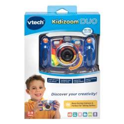 VTech Kidizoom Duo 5.0 Φωτογραφική Μηχανή - Μπλε 80-507103 3417765071034