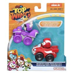 PLAYSKOOL Top Wing Rod And Baddy Racers E5282 / E5351 5010993583751