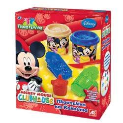 As company Mickey Mouse Σετ παιδική πλαστελίνη με Καλούπια Mickey 1045-03513 5203068035136