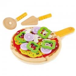Hape Playfully Delicious Ξύλινη Σπιτική Πίτσα Homemade Pizza E3129 6943478007116