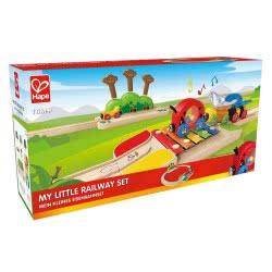 Hape - Rail-My Little Railway Set Toy E3814 6943478016200