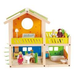 Hape Happy Family Ξύλινο Εξοχικό Happy Villa E3402 6943478007031