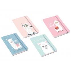 OEM Total Gift Σημειωματάριο XL1231 Lama A6 Με Λάστιχο - 4 Χρώματα 139123100 8051160414345