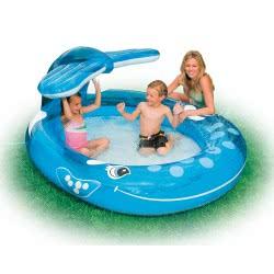 INTEX ΠΙΣΙΝΑ 208X163x99εκ Whale Spray Pool 57435 078257574353