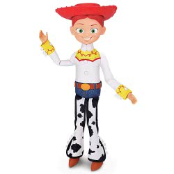 Thinkway Toys Toy Story 4 Jessie Talking Action Figure - English 64114-TS4 5452004441146