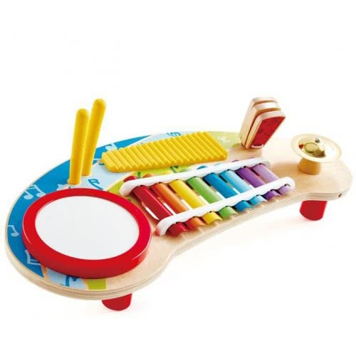 Hape Early Melodies Mighty Mini Band Music Station 5 In 1 Ε0612 6943478025479