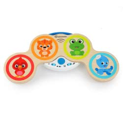 Hape Kids II Magic Touch Drums Wooden Toy 800803G53 6943478024861