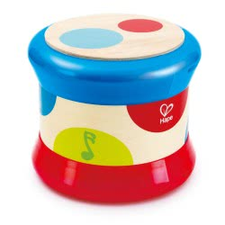 Hape Early Melodies Baby Drum Wooden E0333 6943478017726