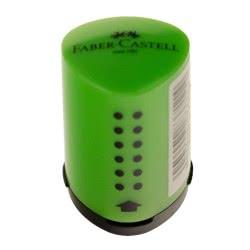 Faber-Castell Mini Grip 2001 Sharpener - Green 183711 4005401837114