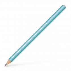 Faber-Castell Graphite Pencil Jumbo Sparkle Pearl B - Turquoise 111605 4005401116059