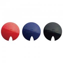 Faber-Castell Ξύστρα UFO Κόκκινη, Μπλε, Μαύρο - 3 Χρώματα 588324 6933256635907