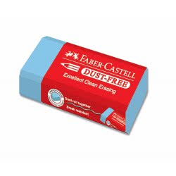 Faber-Castell Γόμα Colour Dust Free - 3 Χρώματα 187221 9555684679864