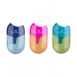 Faber-Castell Sharpener Aplle - 3 Colours 183515 6933256640741