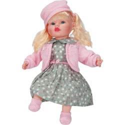 OEM My Doll V2 With Grey Poua Dress, Speeks Greek 46 Cm G02-LP2401 5255552401027