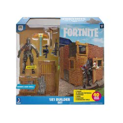 GIOCHI PREZIOSI Fortnite 1X1 Builder Set With Action Figure 10Cm FRT30000 8056379082248