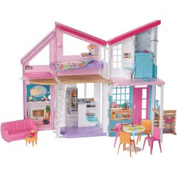 Mattel Barbie Malibu House Playset FXG57 887961690774