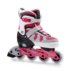 Spokey Maddox - Adjustable Inline Skates S. 40-43 - Pink 922090 5902693220909