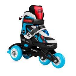 Spokey Feat 4 In 1: Πατίνια Και Ice Skates 4 Σε 1, R. 31-34 - Μπλε 924283 5902693242833