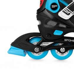 Spokey Feat 4 In 1: Skates And Ice Skates, R. 31-34 - Blue 924283 5902693242833