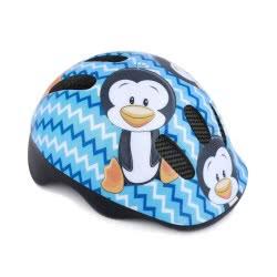 Spokey Penguin Παιδικό Κράνος 44-48Cm Πιγκουΐνος - Σιέλ 922204 5902693222040