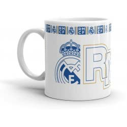 Diakakis imports Real Madrid Ceramic Mug 325Ml 000170589 5205698422775